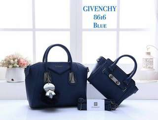 Givenchy 2 in 1 Bag Blue Color