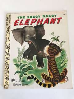 The Saggy Baggy Elephant - Little Golden Book