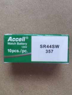 Accell SR-44 SW 1.55v  Oxy Watch battery