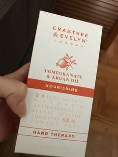 Crabtree & Evelyn Pomegranate and Argan Oil hand therapy