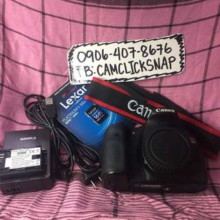 Canon eos 60d body with accesories