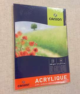 Canson Acrylic Paint Paper 400gsm