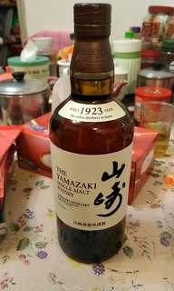 The Yamazaki Single Malt Whisky 山崎蒸溜所謹製 威士忌