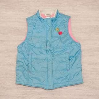 🚚 二手童裝/ oshkosh水藍色鋪棉保暖背心