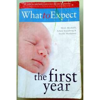 What to Expect the First Year – Sandee Hathaway; Arlene Eisenberg; Heidi Murkoff