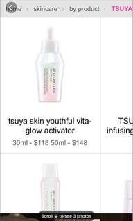 Shu Uemura Serum TSUYA Skin youthful vita-glow activator 50ml