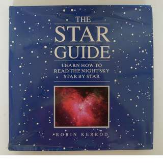 Reader's Digest Hard Cover - The Star Guide. Learn How to read the Night Sky Star by Star