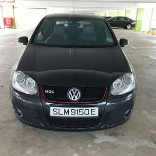 VW GOLF GTi 2 DOOR SUNROOF 2008