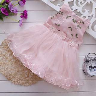 Girls Flower/ Lace Dress