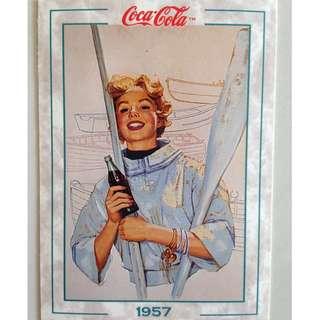 1994 Coca Cola Series 2 Base Card #165 - Original Art - 1957