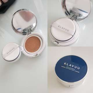 Klavuu hi coverage marine aqua collagen cushion
