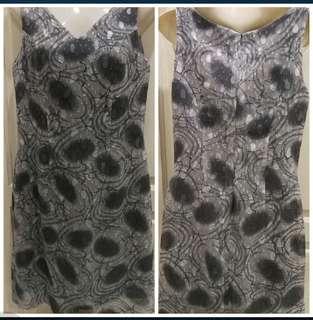 L Grey Dress