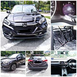 SAMBUNG BAYAR/CONTINUE LOAN  HONDA HRV AUTO 1.8 YEAR 2018 MONTHLY RM 1310 BALANCE 9 YEARS ROADTAX VALID CONDITION NEW  DP KLIK wasap.my/60133524312/hrv