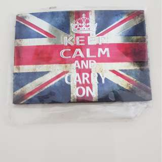 Keep calm and .... - magnet