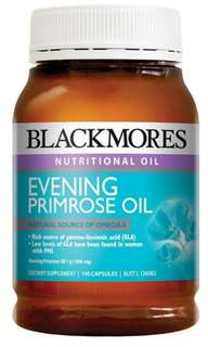 澳洲 Blackmores Evening Primrose Oil 月見草油 (190 粒)