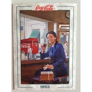 1994 Coca Cola Series 2 Base Card #163 - Original Art - 1953