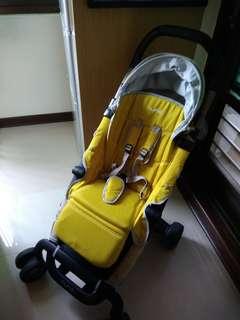 Nuna Pepp推車 含新生兒墊-雨罩-蚊帳-轉接架