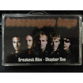 Backstreet Boys - Greatest Hits Chapter One Cassette backstreetboys