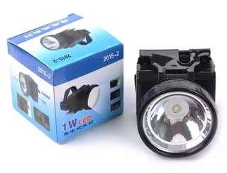 Rechargeblm Head Lamp 1w / White light
