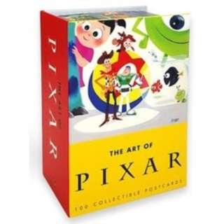 🚚 迪士尼 Disney / 皮克斯100張明信片精緻禮盒硬殼書 / D263 / 卡片 Pixar 玩具總動員 海底總動員 怪獸電力公司