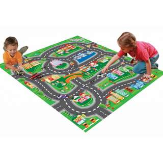 Kids Car play mat with cars brand new