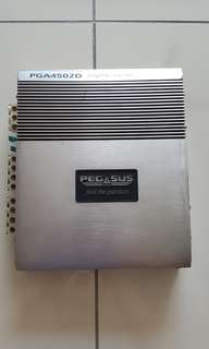 Pegasus car amplifier 4 channel