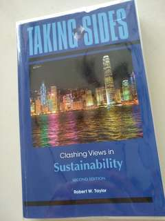 Clashing Views in Sustainability
