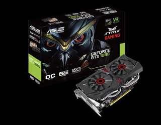 ASUS STRIX GTX1060 OC 6GB