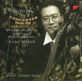 Yo-Yo Ma Concertos from the New World Music CD