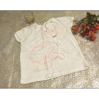 SANRIO 夏天 女童 小孩 兒童 短袖 T恤 尺寸120  約中班至小一 只售39元
