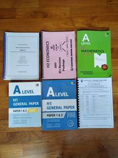 JC BOOKS AND REVISION PACKAGES
