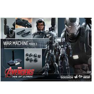100% Factory Sealed Hot Toys Diecast MMS290D10 Avengers Age of Ultron - War Machine Mark II Mark 2 Version 2