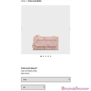 Charles n keith wallet offer rm165