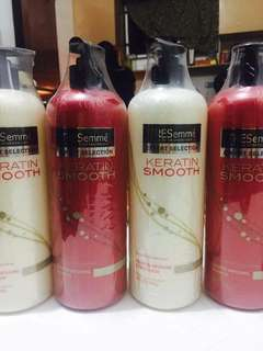 Tresseme shampoo and conditioner 739ml