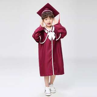 New kindergarten kids graduation gown