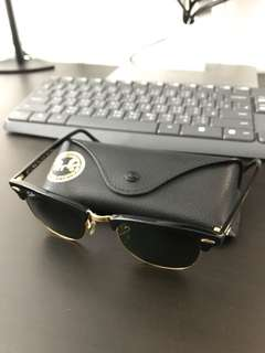 Rayban Clubmaster Sunglasses RB3016