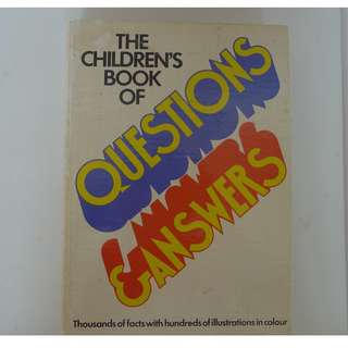 Reader's Digest Hard Cover - The Children's Book of Questions & Answers