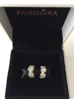 Pandora Silver Lights Spacer Charm
