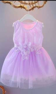 Girls Sleevless Dress