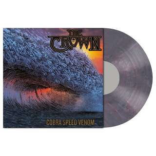 The Crown - Cobra Speed Venom (Dusk Blue Marbled) Limited Edition LP Vinyl