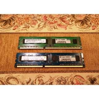 HP DDR3 8G(4GX2) 記憶體