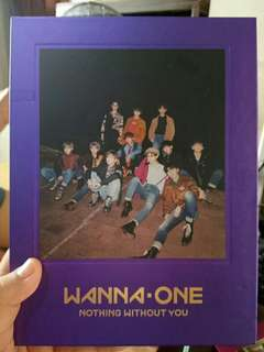 WANNA ONE Nothing Without you One Ver
