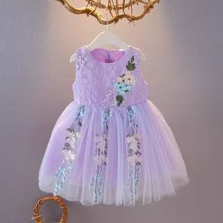 Girls Flower Tutu Dress
