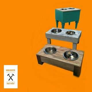 Custom Dog bowl stands