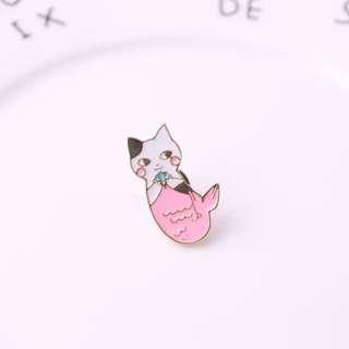 (INSTOCK) Mermaid Cat Enamel Pin