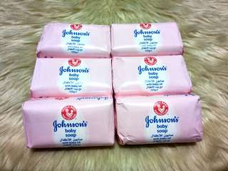 IMPORTED JOHNSON'S Baby Soap with Baby Oil