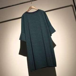 Somnia black-green PLUS SIZE dress