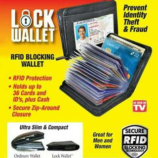 🌟LOCK WALLET RFID BLOCKING🌟