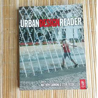 Urban Design Reader by Steve Tiesdell, Matthew Carmona