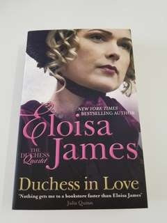 Brand New Eloisa James Duchess in Love